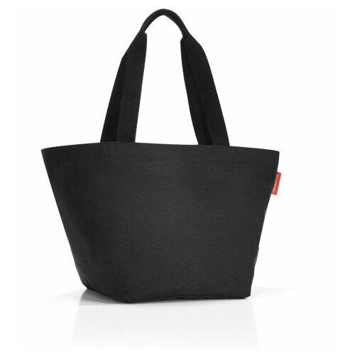 Сумка тоут reisenthel, текстиль, черный сумка тоут reisenthel текстиль красный