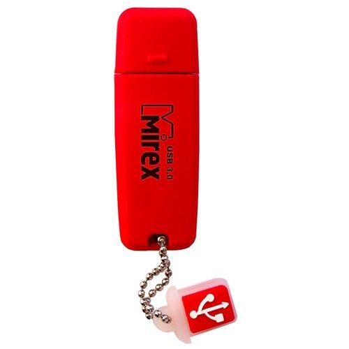 Фото - Флешка Mirex CHROMATIC USB 3.0 8GB, красный флешка mirex chromatic usb 3 0 32gb 32 гб красный