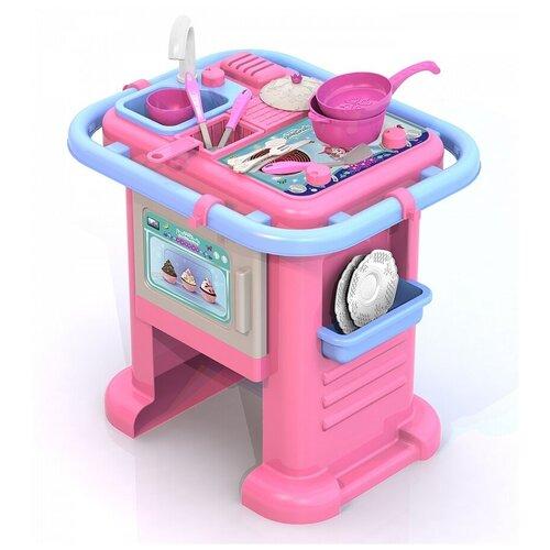 Купить Кухня Нордпласт Enchantimals 601/3 розовый, Детские кухни и бытовая техника