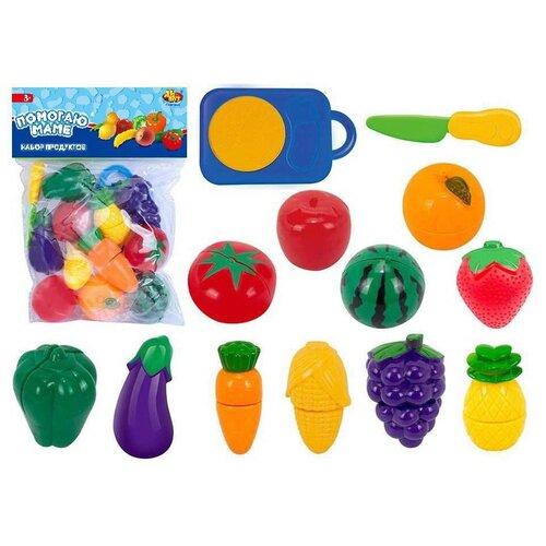 Фото - Набор продуктов ABtoys Помогаю маме PT-01326 набор продуктов с посудой abtoys помогаю маме pt 00395 разноцветный