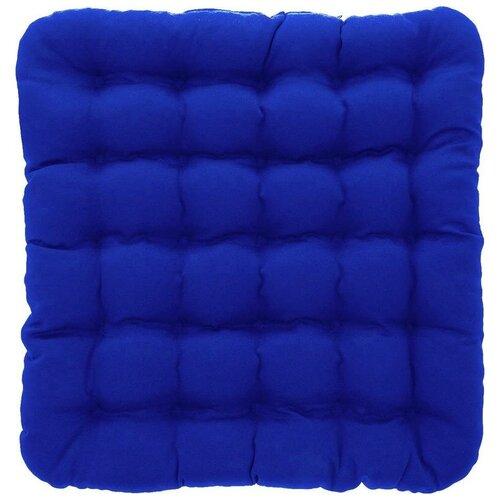 Подушка на стул Smart Textile Уют (T428), 40 х 40 см темно-синий