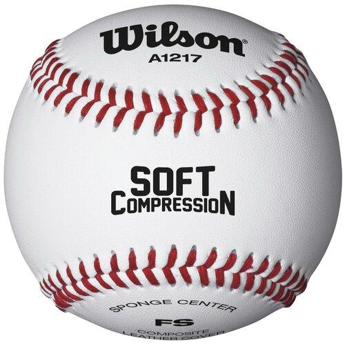 Мяч Wilson Soft Compression (WTA1217B) белый