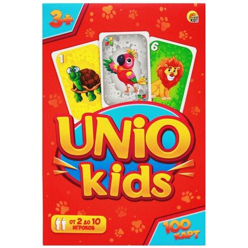 Фото - Настольная игра Рыжий кот Униокидс (UNIO kids) ИН-6335 bright kids развивающая игра угадайки рыжий кот ин 7617 рк