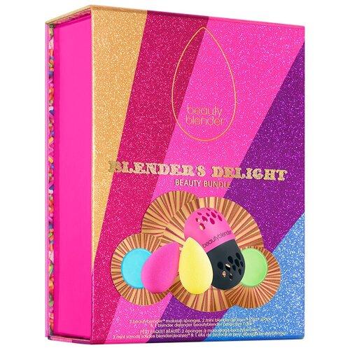 Набор спонжей beautyblender Blender's Delight с мылом, для лица, 2 шт. розовый/желтый недорого