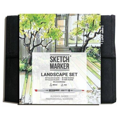 Купить SketchMarker Набор маркеров Landscape Set, 36 шт., Фломастеры и маркеры