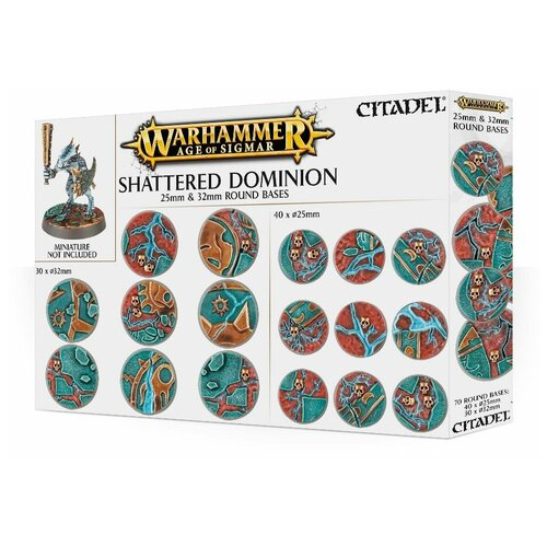 Миниатюры Games Workshop Shattered Dominion 25 & 32mm Round Bases