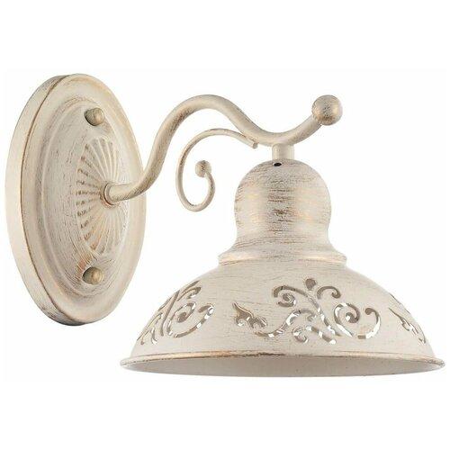 Настенный светильник FREYA Benoit FR2566-WL-01-WG, E27, 60 Вт, кол-во ламп: 1 шт., цвет арматуры: золотой, цвет плафона: золотой бра freya benoit fr2566 wl 01 wg