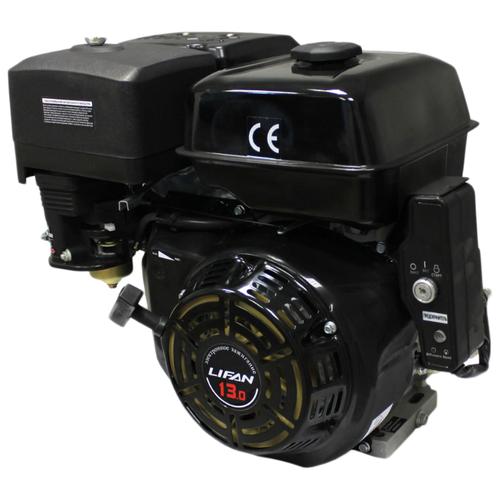 Двигатель Lifan 190FD-18А (15 л.с., вал 25, электростартер, катушка 18А)