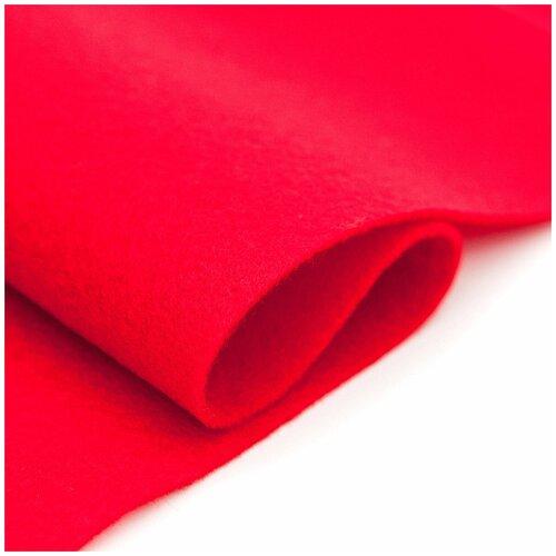 Купить 61212664 Фетр для творчества, красный, 2мм, 20x30см, уп./1шт. Glorex, Валяние