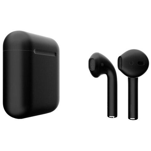 Беспроводные наушники Apple AirPods 2 Color (без беспроводной зарядки чехла) матовый черный