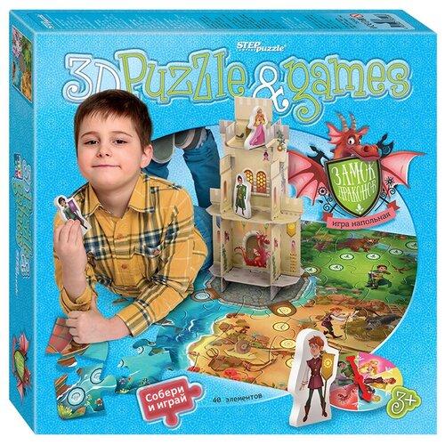 Фото - Настольная игра Step puzzle Замок драконов настольная игра step puzzle лесное царство