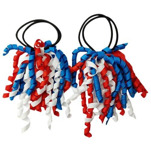 Купить Резинка BRADEX Спиральки 2 шт. белый/красный/синий
