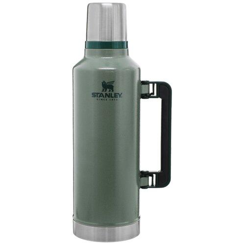 Классический термос STANLEY Classic Vacuum Bottle, 2.3 л зелeный