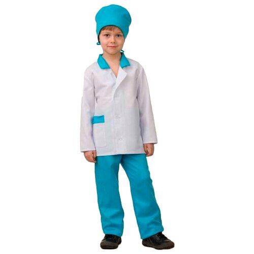 Купить Костюм Батик Врач (5707), белый/голубой, размер 152, Карнавальные костюмы