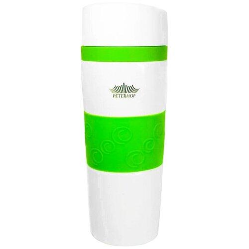 Термокружка Peterhof PH-12418, 0.4 л зеленый