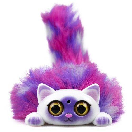 Купить Интерактивная мягкая игрушка Tiny Furries Fluffy Kitty котенок Katy, фиолетовый, Роботы и трансформеры