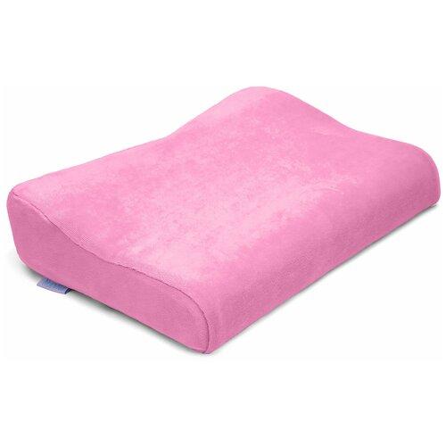 Подушка Nuovita ортопедическая Neonutti Bambino Unico Memoria 40 х 28 см розовый