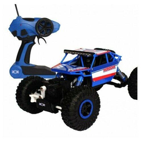 Фото - Радиоуправляемый Краулер 4WD 1:18 радиоуправляемый контейнеровоз zhoule toys радиоуправляемый контейнеровоз citytruck 1 18 551 b1