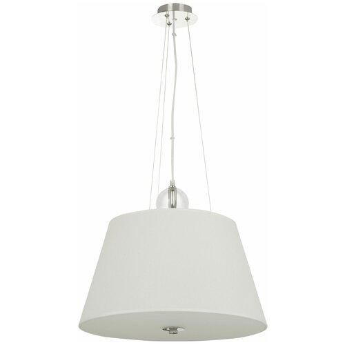 Потолочный светильник MAYTONI Bergamo MOD613PL-03BG, 180 Вт, кол-во ламп: 3 шт., цвет арматуры: хром, цвет плафона: бежевый потолочный светильник maytoni bergamo mod613pl 03w e27 180 вт