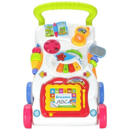Каталка-ходунки everflo Первые шаги, HS0339653/HS0360366 разноцветный everflo каталка everflo машинка smart car m001 pink