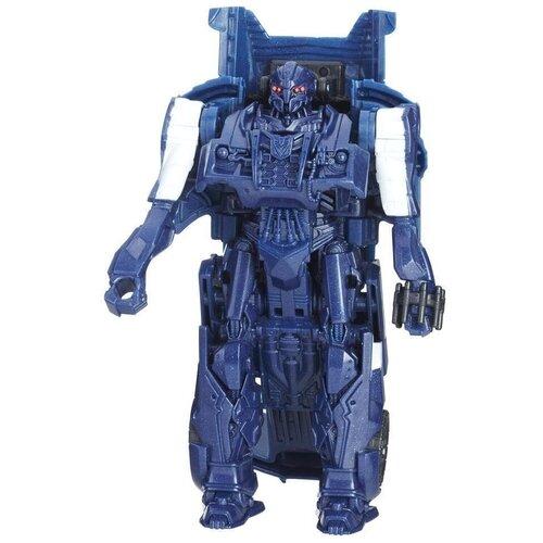 роботы transformers hasbro трансформеры 5 movie уан степ Трансформер Transformers Transformers Баррикейд. Уан-Степ (Трансформеры 5) C1313, синий