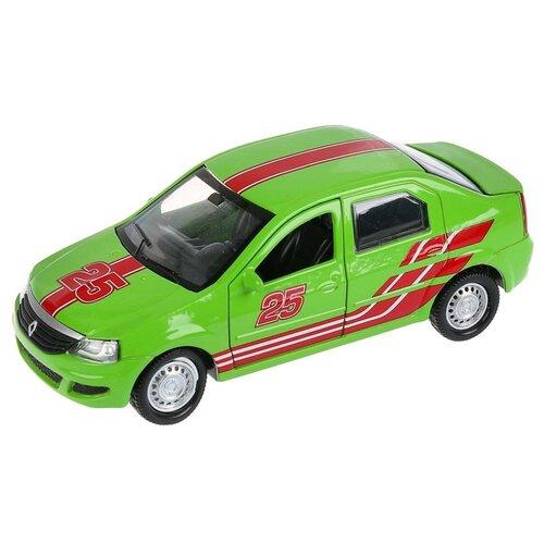 Легковой автомобиль ТЕХНОПАРК Renault Logan Sport (LOGAN-SPORT), 12 см, зеленый