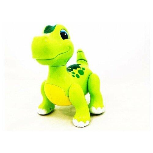 Фото - Радиоуправляемый интерактивный робот динозавр CS Toys радиоуправляемые игрушки 1 toy интерактивный радиоуправляемый щенок робот дружок