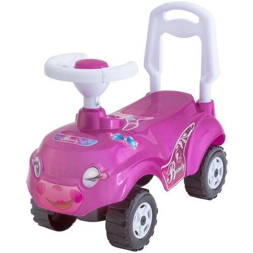 Купить Каталка-толокар Orion Toys Микрокар (157) розовый, Каталки и качалки