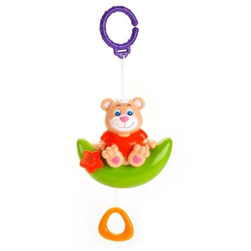 Фото - Подвесная игрушка Умка Медвежонок на луне (GW3627-R) бежевый/зеленый/красный игрушка для ванной умка бегемотик b1410463 r красный желтый зеленый