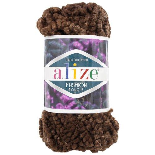 Купить Пряжа для вязания Alize 'Fashion boucle' 100гр., 35м. (70%акрил, 25% шерсть, 5% полиамид) ТУ (5574), 5 мотков