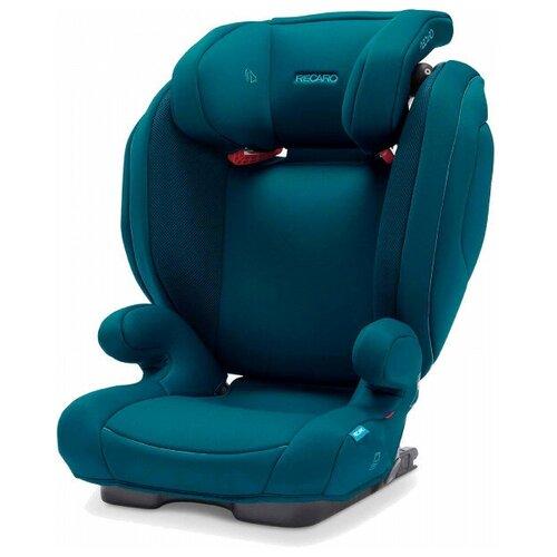 Recaro Автокресло Recaro Monza Nova 2 Seatfix, гр. 2/3, расцветка Select Teal Green автокресло recaro salia гр 0 1 расцветка select teal green 00089025410050