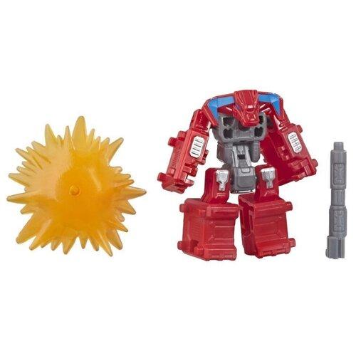 Купить Трансформер Transformers Смэшдаун. WFC-S31. Баттл Мастерс (Война за Кибертрон: Осада) E4495 красный/серый/желтый, Роботы и трансформеры
