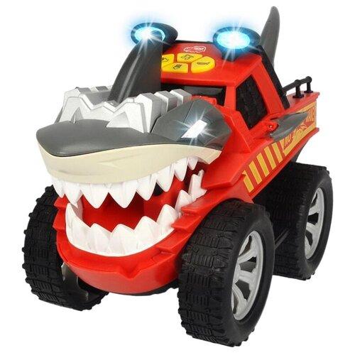 dickie toys машинка трансформер боевой трейлер optimus prime Машинка Dickie Toys Стремительная акула (3765005), 30 см, красный