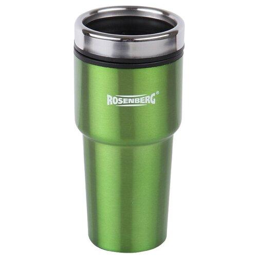 Термокружка ROSENBERG RSS-415002, 0.48 л зеленый