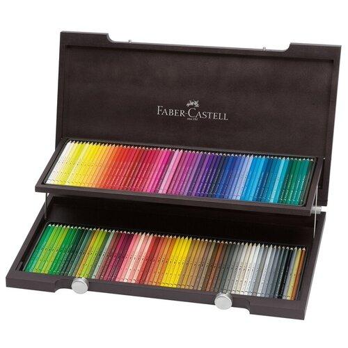 Акварельные карандаши ALBRECHT DURER Faber Castell 120 цветов в деревянном пенале