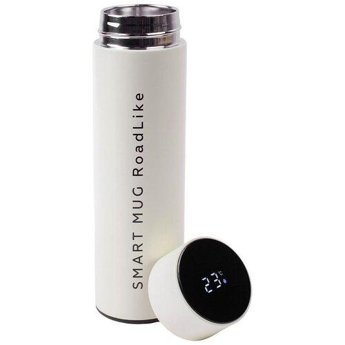 Классический термос Roadlike Smart Mug, 0.5 л белый