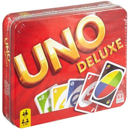 Фото - Настольная игра Mattel Uno Делюкс K0888 настольная игра уно дисплей uno