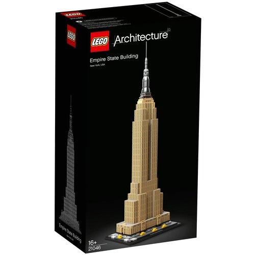 Конструктор LEGO Architecture 21046 Эмпайр-стейт-билдинг ravensburger 3d пазл ravensburger эмпайр стейт билдинг