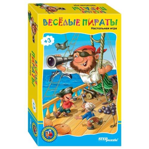 Фото - Настольная игра Step puzzle Веселые пираты настольная игра step puzzle лесное царство