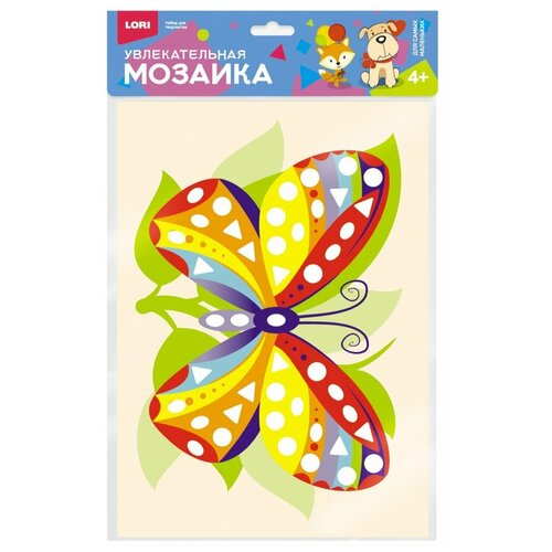 LORI Увлекательная мозаика Бабочка (Км-013)