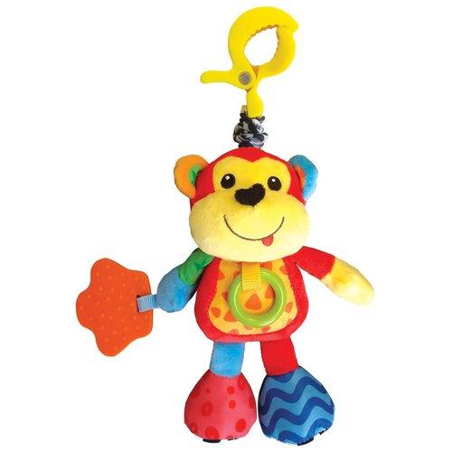 Фото - Подвесная игрушка Азбукварик Обезьянка Люленьки красный/желтый подвесная игрушка азбукварик зайчонок люленьки желтый голубой