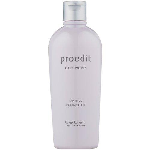 Купить Lebel Cosmetics шампунь Proedit Care Works Bounce Fit, 300 мл