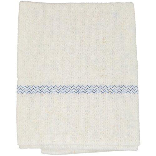 Тряпки aQualine для пола флисовые 50х60 см, 2 шт., белый/голубой