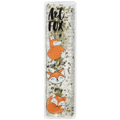 ArtFox Линейка - шейкер Foxy Lady, жидкие блёстки