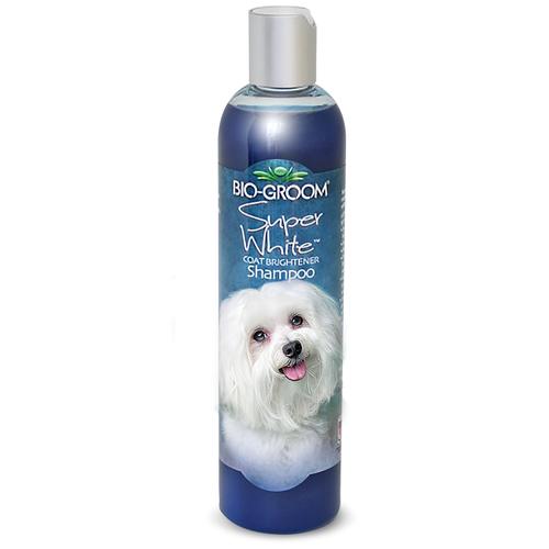 Шампунь Bio-Groom Super White для собак белого и светлых окрасов 355 мл шампунь bio groom super white для собак белого и светлых окрасов 355 мл