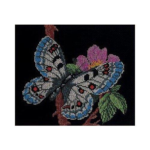 Купить Набор для вышивания Радуга бисера В-136 Порхающая красавица 24 х 28 см, Наборы для вышивания