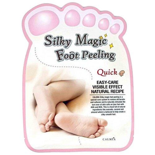 Calmia Экспресс пилинг-носочки для ног Silky Magic 40 мл пакет