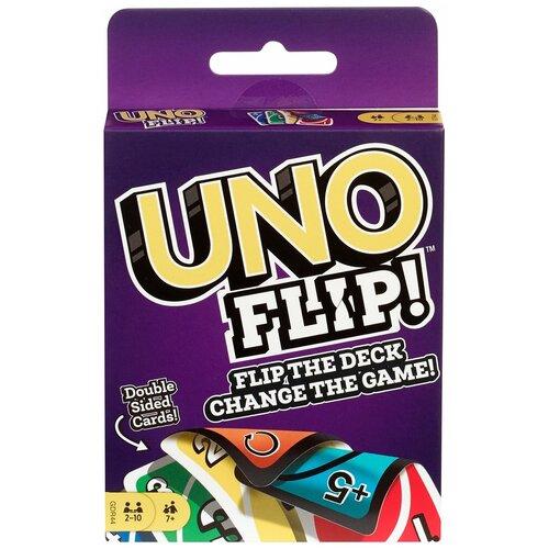 Фото - Настольная игра Mattel Uno Flip GDR44 настольная игра уно дисплей uno