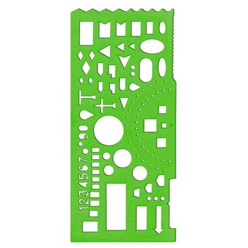 Фото - Линейка Стамм 20 см зеленый (пластик) линейка стамм лн02 16 см пластик 210484