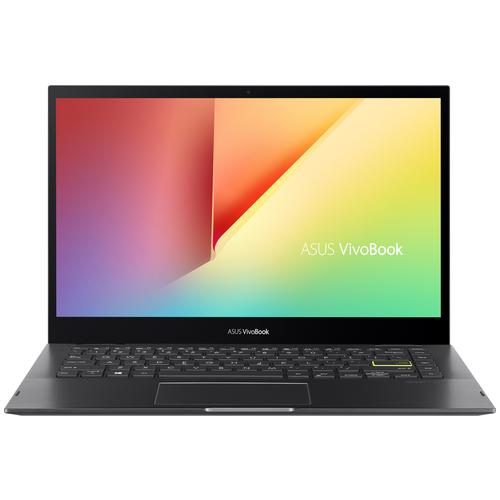 14 Ноутбук ASUS VivoBook Flip 14 TP470EZ-EC035T (1920x1080, Intel Core i5 2.4 ГГц, RAM 8 ГБ, SSD 512 ГБ, Win10 Home), 90NB0S11-M00450, черный ноутбук asus vivobook flip 14 tp412fa 90nb0n31 m02610